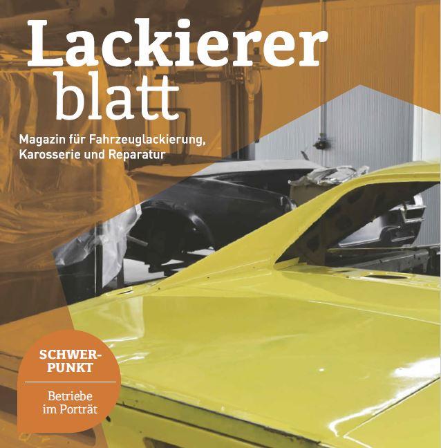 Fachzeitschrift Lackiererblatt